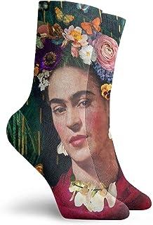 Frida Kahlo World - Calcetines de vestir para yoga