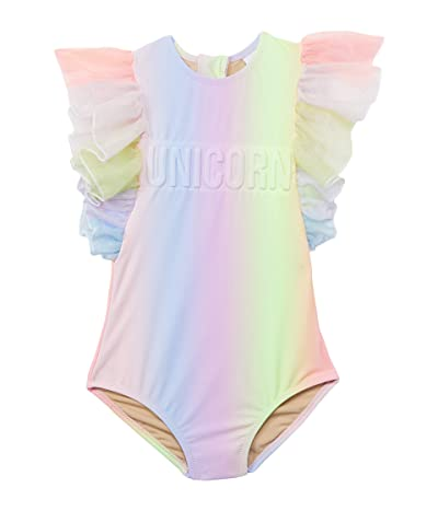 shade critters Unicorn Tulle Sleeve One-Piece Sherbert Rainbow (Infant/Toddler)