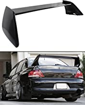 Cuztom Tuning Fits for 2002-2007 Mitsubishi Lancer Evo 7 8 9 Painted Black Rear Trunk Lid Spoiler Wing