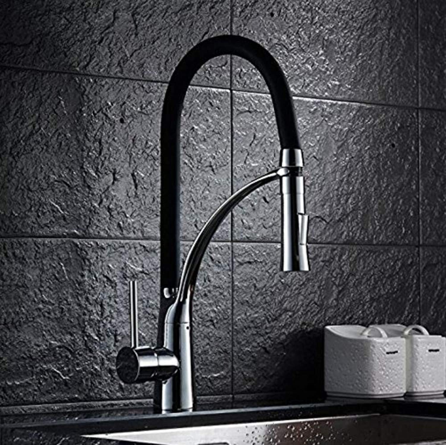 Bathroom Sink Basin Lever Mixer Tap Basin Faucets Faucet with Pull-Out Shower Head Fitting in Kitchens Sinks Tap