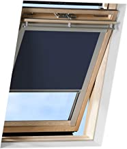Victoria M. - Estor para ventana abuardillada Velux/GGL C04, azul oscuro