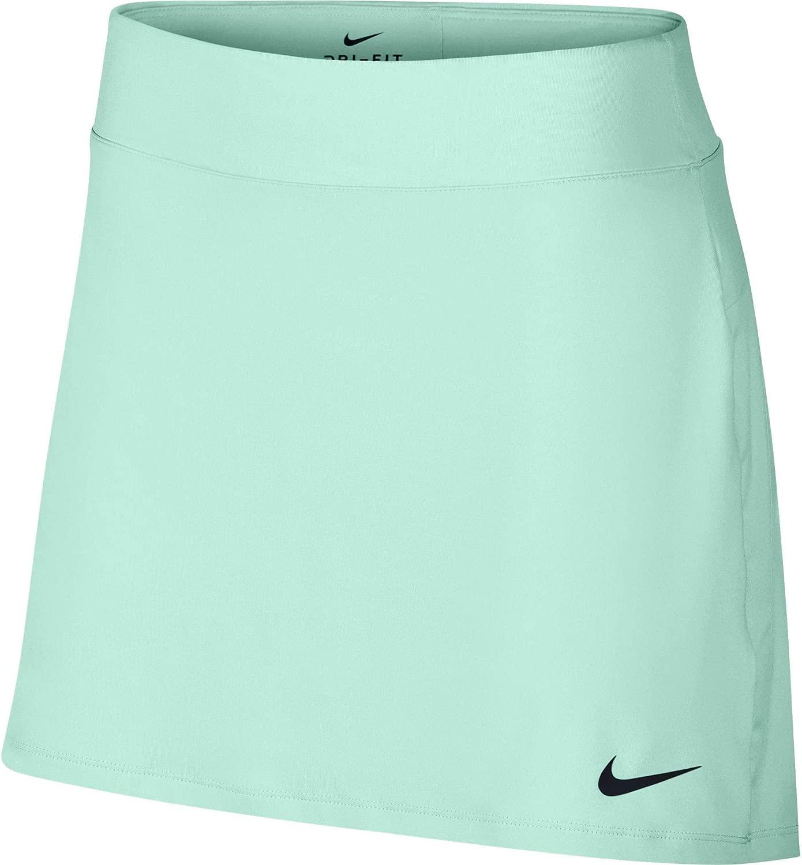 Nike Womens 15 Dry Pleated Golf Skort (Igloo, Large)