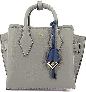 Luxury Fashion   Mcm Womens MWT9AMA97ARCHGREYEZ Grey Handbag   Fall Winter 19