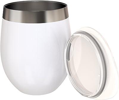 絶縁ステンレススチールコーヒーカップby theフロー8oz 8oz ホワイト