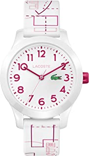 Kids' TR90 Quartz Watch with Rubber Strap, White, 14...