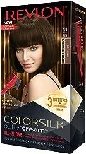 Revlon Colorsilk Buttercream Hair Dye, Dark Brown, Pack of 1