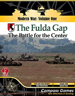 Compass Games CPS: Fulda Gap, The Battle for The Center [in World War III] Boardgame