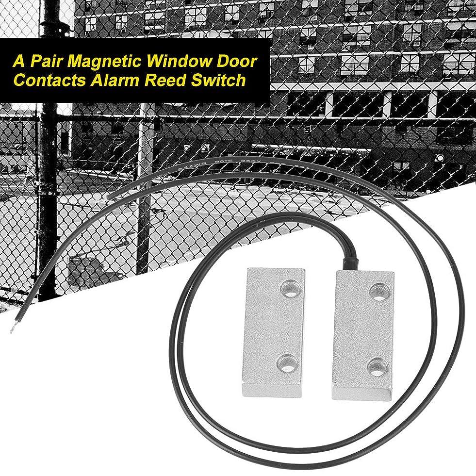 大使館化石スリップ磁気ドアスイッチ、軽量磁気リードスイッチ、金属ドアの安全な商用磁気ドアウィンドウ