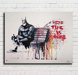 Crude Oil Banksy Painting SINGLE Leinwand Wand Kunst Bild drucken
