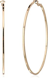 Basic Extra-Large Thin Hoop Earrings