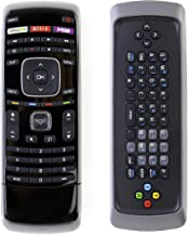 New XRT302 QWERTY Keyboard Remote Control Fit for Vizio TV E601i-A3 E701i-A3 E650i-A2 D650i-B2 M420SV M470SV M550SV M320SR M370SR M420SR E3D320VX E552VL E472VL M470VSE M650VSE M550VSE M420KD