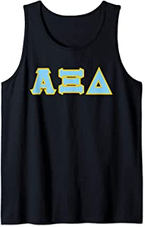 Greek letters - Alpha, Xi, and Delta Tank Top