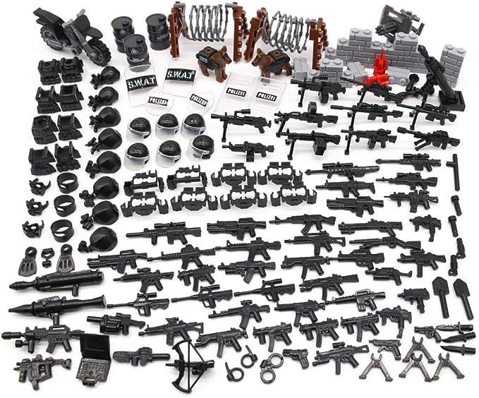 63 opinioni per Feleph Accessori Militari Giocattolo, Armi Custom Set per Personaggi della