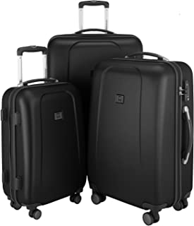 L et XL Or champagne xl A13 Set de valises rigides /à 4 roulettes Taille M