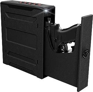 Vaultek Essential Series Quick Access Handgun Safe with Auto Open Lid Pistol Safe Rechargeable Lithium-ion Battery (Not Compatible with Smart Key)