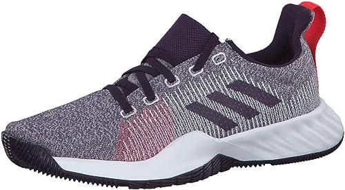 Blaue ADIDAS Schuhe mit silbernen Streifen w. NEU