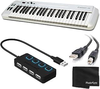 Samson Carbon 49 MIDI Controller Keyboard 49-Key + 4-Port US