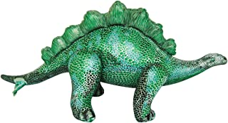"Inflatable large Stegosaurus Dinosaur. 46"" long.Blow up animal."
