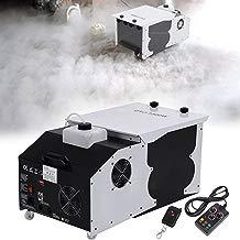Ridgeyard 2.5L 1500W Maquina de Humo Efecto de hielo seco Emisor de tierra de baja emisión Smoke Machine con control remoto para Wedding Dance DJ Stage Party Show