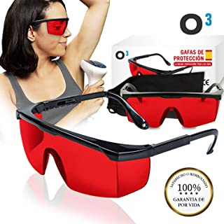 fc4cec275f O³ Gafas Laser Depilación - Gafas de protección para depilación HPL/IPL/Luz  Pulsada