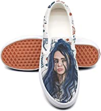 Billie-Eilish Classic Canvas shoes Slip On Skate Sneakers men women unisex Durable shoe