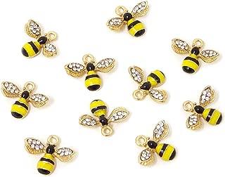Best enamel bee charms Reviews