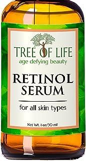 ToLB Retinol Serum - Clinical Strength Retinol Serum Face Moisturizer Cream for Anti Aging, Anti Wrinkle - Contains Many Organic and Natural Ingredients - 1 oz