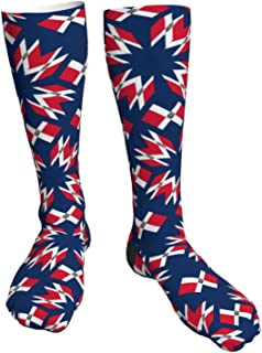 Crew Socks Calf Socks Victory Frog Casual Athletic Warm Thick Moisture Wicking Breathable for Men Long Sock