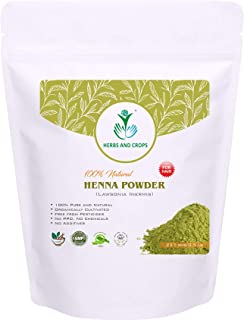 100% Natural Organically Grown Henna Powder Only for Hair (227g / (1/2 Lb) / 8 Ounces)