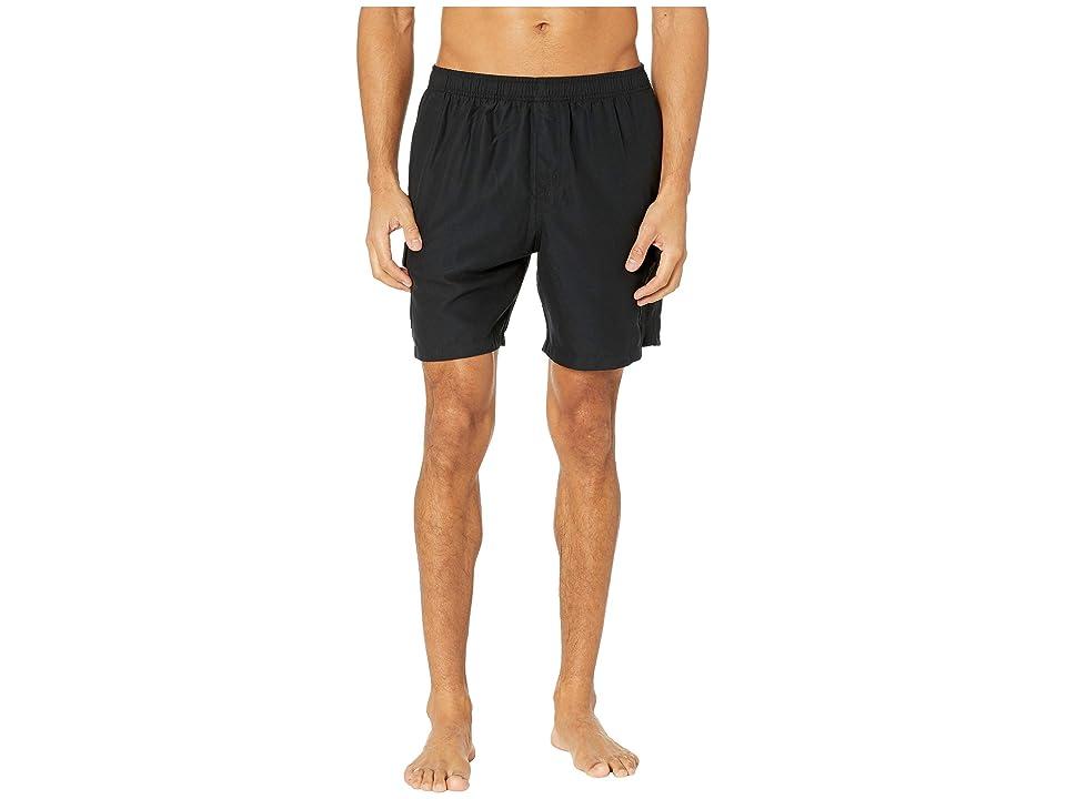 Quiksilver Waterman Balance Volley Swim Shorts 18 (Black) Men