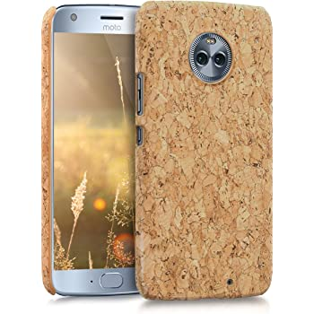 kwmobile 対応: Motorola Moto X4 ケース - コルク スマホカバー - コルク製 携帯 保護ケース モトローラ モト