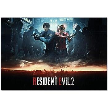 Amazon Com Resident Evil 2 Remake Official Alternative Art Prints 13x19 Posters Prints