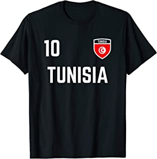 Tunisia Soccer Jersey 2019 Tunisian Football Team Fan Shirt
