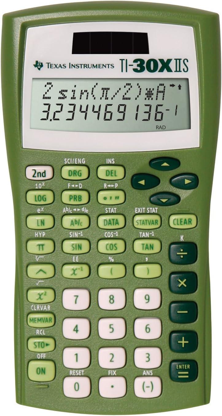Texas Instruments TI-30X Ranking TOP19 IIS Battery-Powered Scient Solar 2-Line Nashville-Davidson Mall