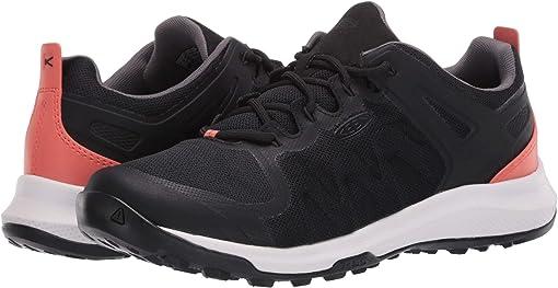 Black/Coral