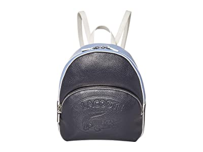 Lacoste Croco Crew Backpack (Eclipse Blue/E-Mail) Backpack Bags