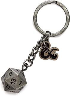 Dungeons and Dragons D20 Keyring - Officially Licensed Wizards of the Coast Merchandise