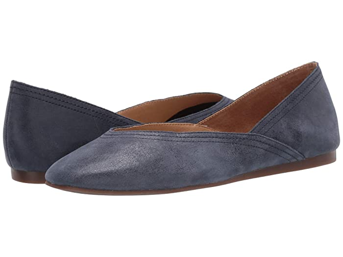 Lucky Brand  Alba (Navy) Womens Flat Shoes