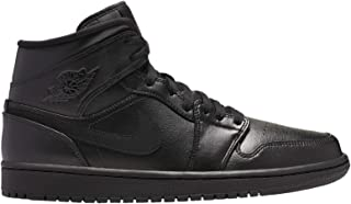 Men's Jordan AJ 1 Mid Leather Casual Shoes