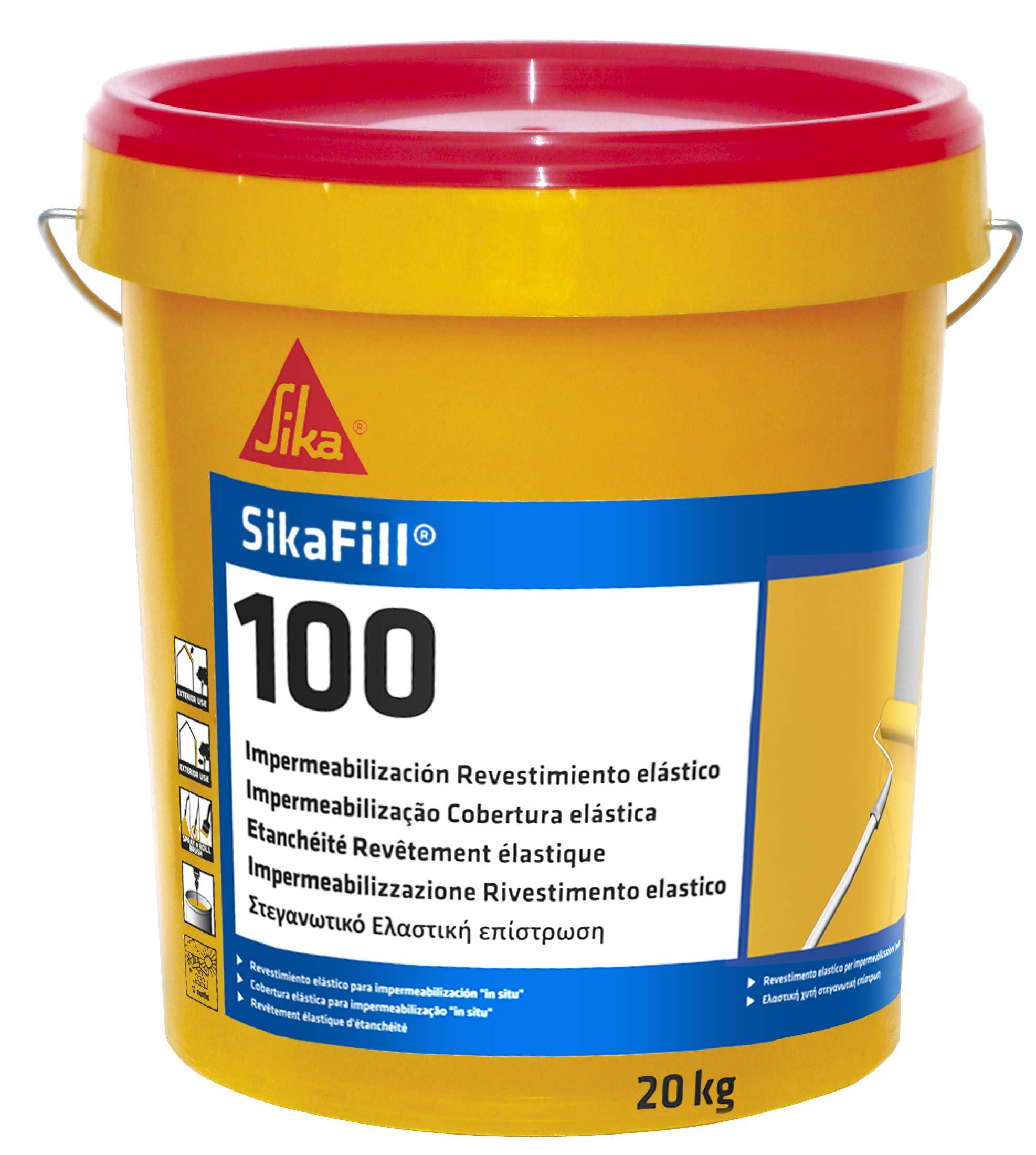 SikaFill-100, Revestimiento elástico para impermeabilización de ...