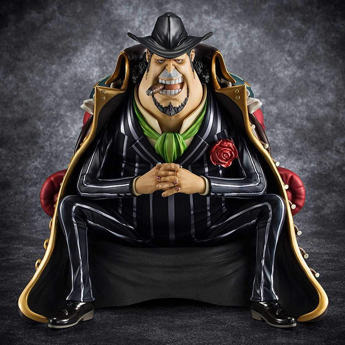 Megahouse One Piece Portrait of Pirates: Sitting on Chairs Capone Gang Bege PVC Figure