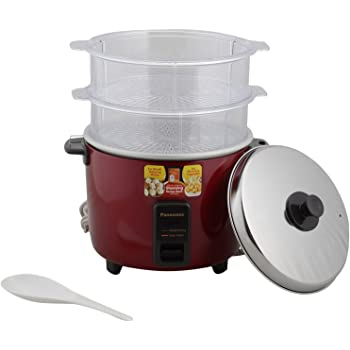 Panasonic SR-WA22H(SS) - 750 Watt Automatic Cooker Warmer 5.4 Litre Food Steamer