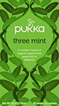 Pukka Herbs Three Mint Tea Bags, x