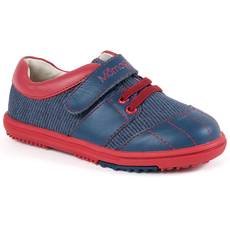 モモグロウBoys kyleレザースニーカー靴