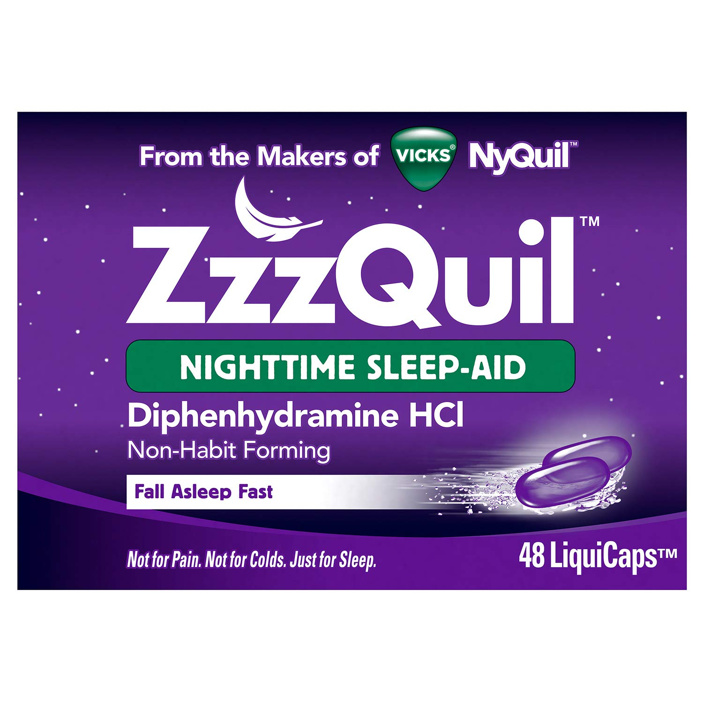 Vicks Nighttime Non Habit Refreshed LiquiCaps