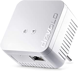 Devolo dLAN 550 WiFi - Adaptador Powerline adaptador de red PLC 1 puerto LAN WiFi Booster WiFi Move Color Blanco