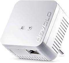 Devolo dLAN 550 WiFi - Adaptador Powerline, adaptador de red PLC, 1 puerto LAN, WiFi Booster, WiFi Move, Color Blanco