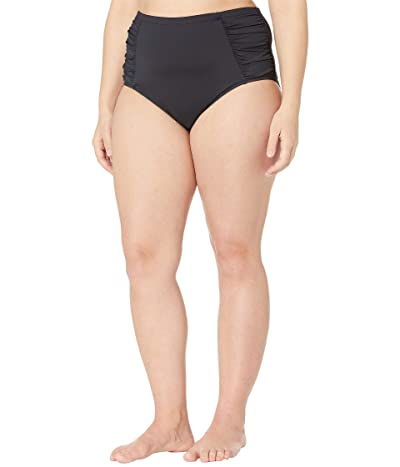 La Blanca Plus Size Island Goddess High-Rise Pant (Black) Women
