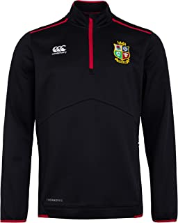 Canterbury of New Zealand British and Irish Lions Rugby Men's Thermoreg Quarter Zip Fleece Top