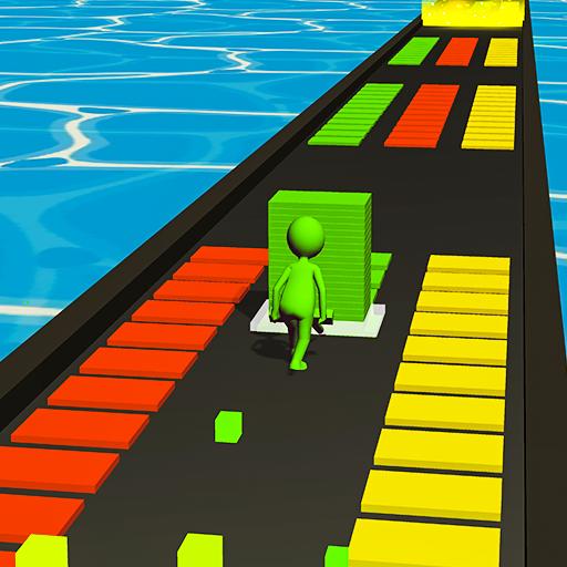 Stack Blocks Tower 3D - Tiles Stacking Game